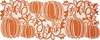 """product image for Heritage Lace Pumpkin Vine 14""""x36"""" Orange Table Runner,PV-1436O"""