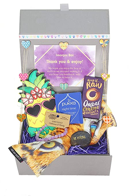 Smorgas Box Care Package Gift Box For Women Or Girlfriend