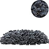 """YINXUE Pet Snuffle Mat Durable Washable Dog Cat Slow Feeding Mat (22"""" x 16"""") Anti Slip Puzzle Blanket for Distracting Smell Training Foraging"""