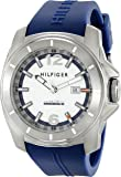 Tommy Hilfiger Men's 1791113 Cool Sport Analog Display Quartz Blue Watch