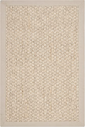 Safavieh Natural Fiber Collection NF525C Marble Sisal Area Rug 2 x 3