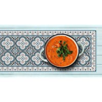 IRI-GIRI Decorative Trivet and Kitchen Table Runners Handles Heat Up to 365F, Anti Slip, Hand Washable and Convenient…