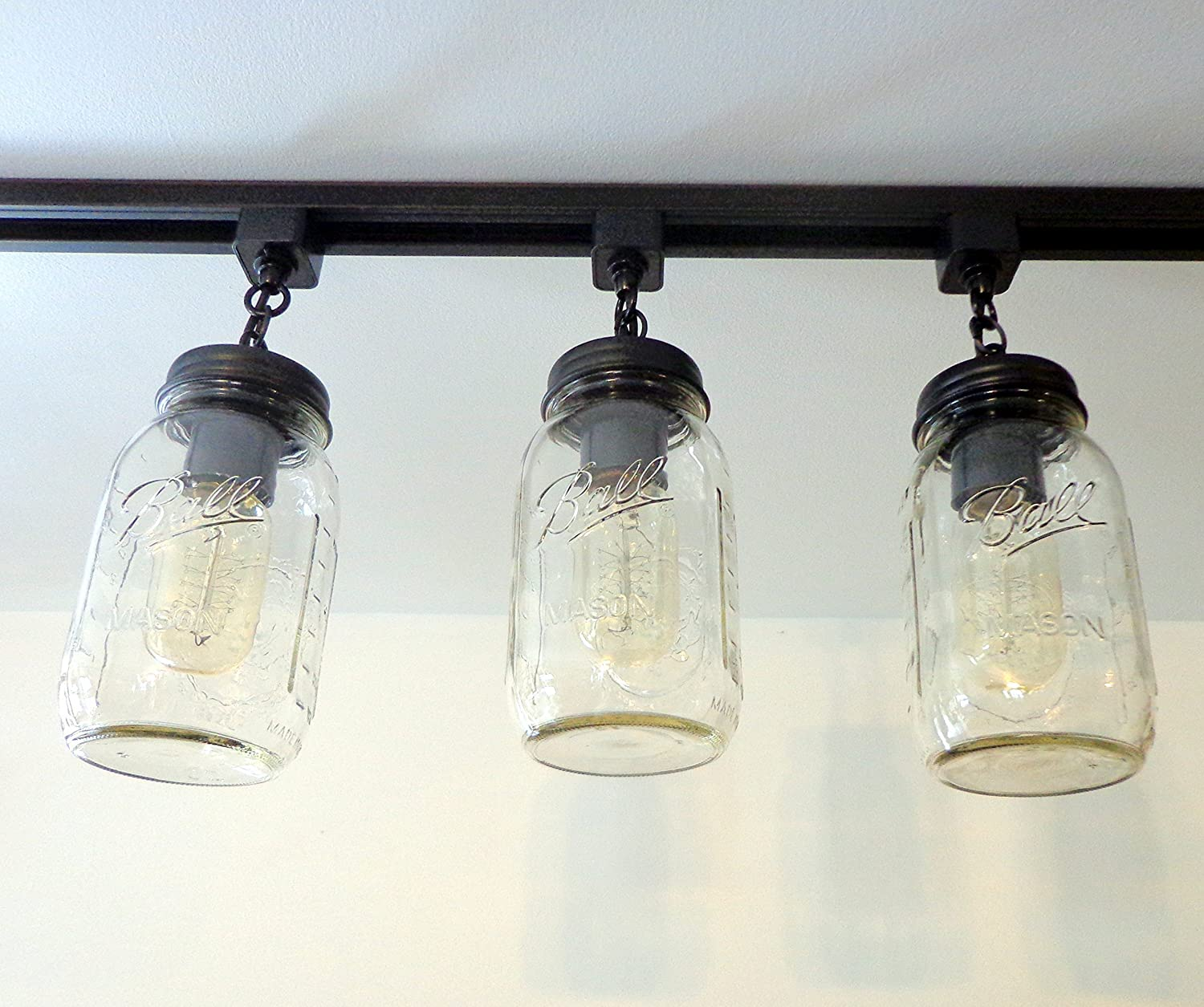 mason jar track lighting. mason jar track lighting j
