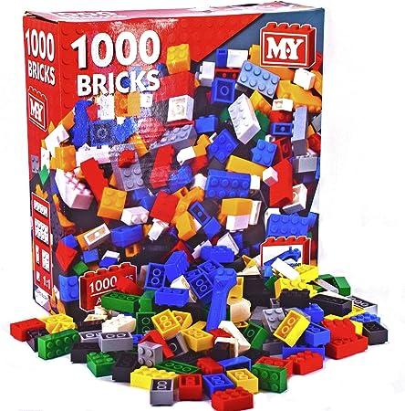 My Boîte Jeu De Construction 1000 Briques Amazon Fr Jeux Et Jouets