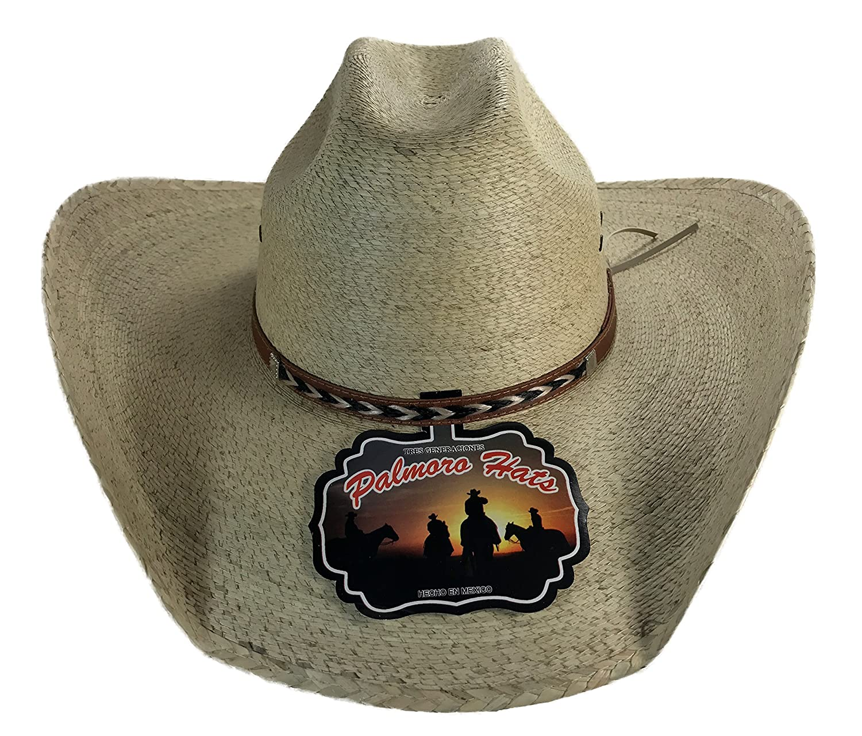01afc2d23 Palmoro The Original Truman Cowboy Moreno Palm Straw Hat