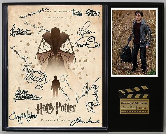 Harry Potter Deathly Hallows Part 1 Reprod Movie Script Cinema