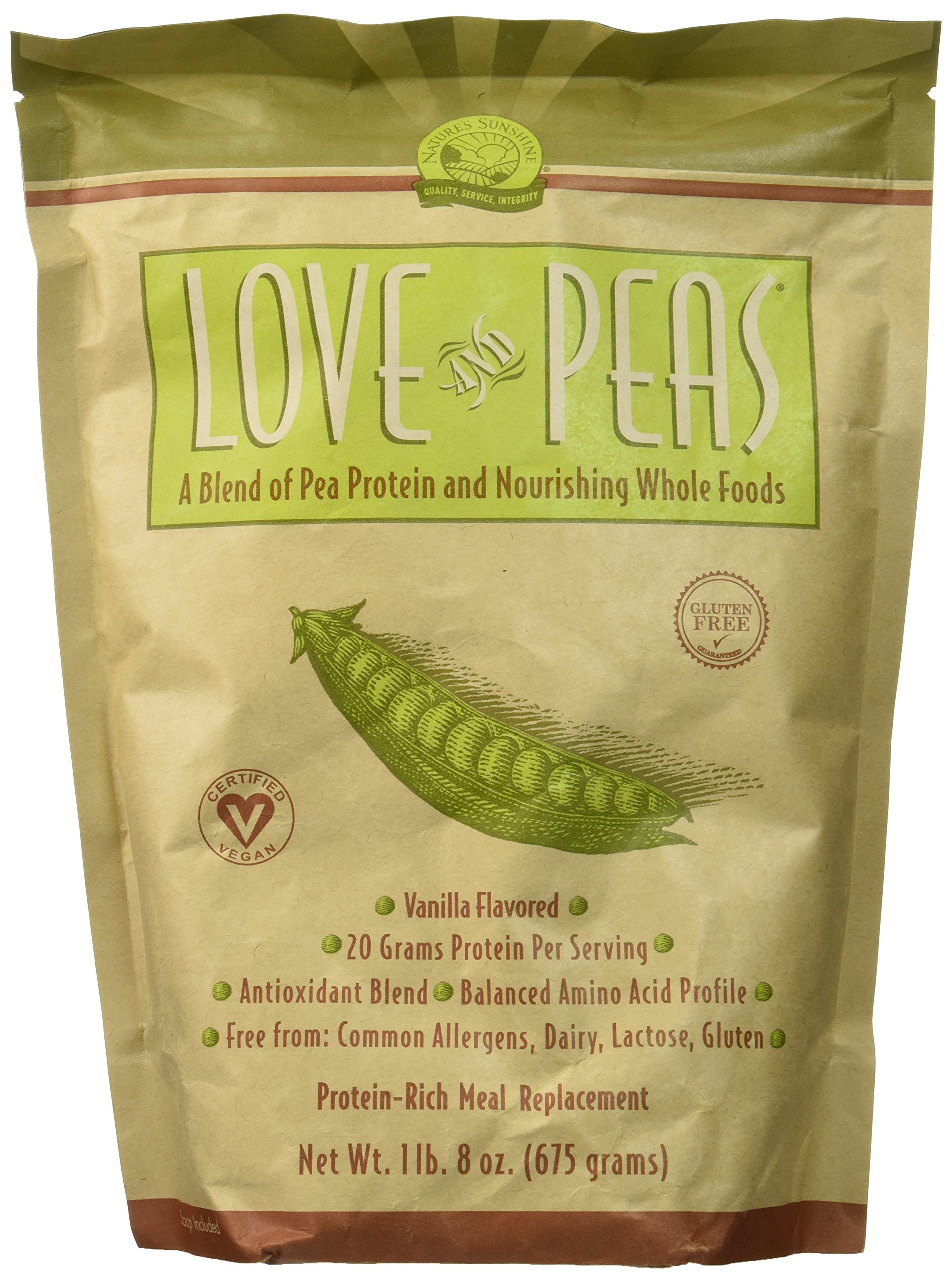 Nature's Sunshine Love and Peas 675g (Pack of 2)