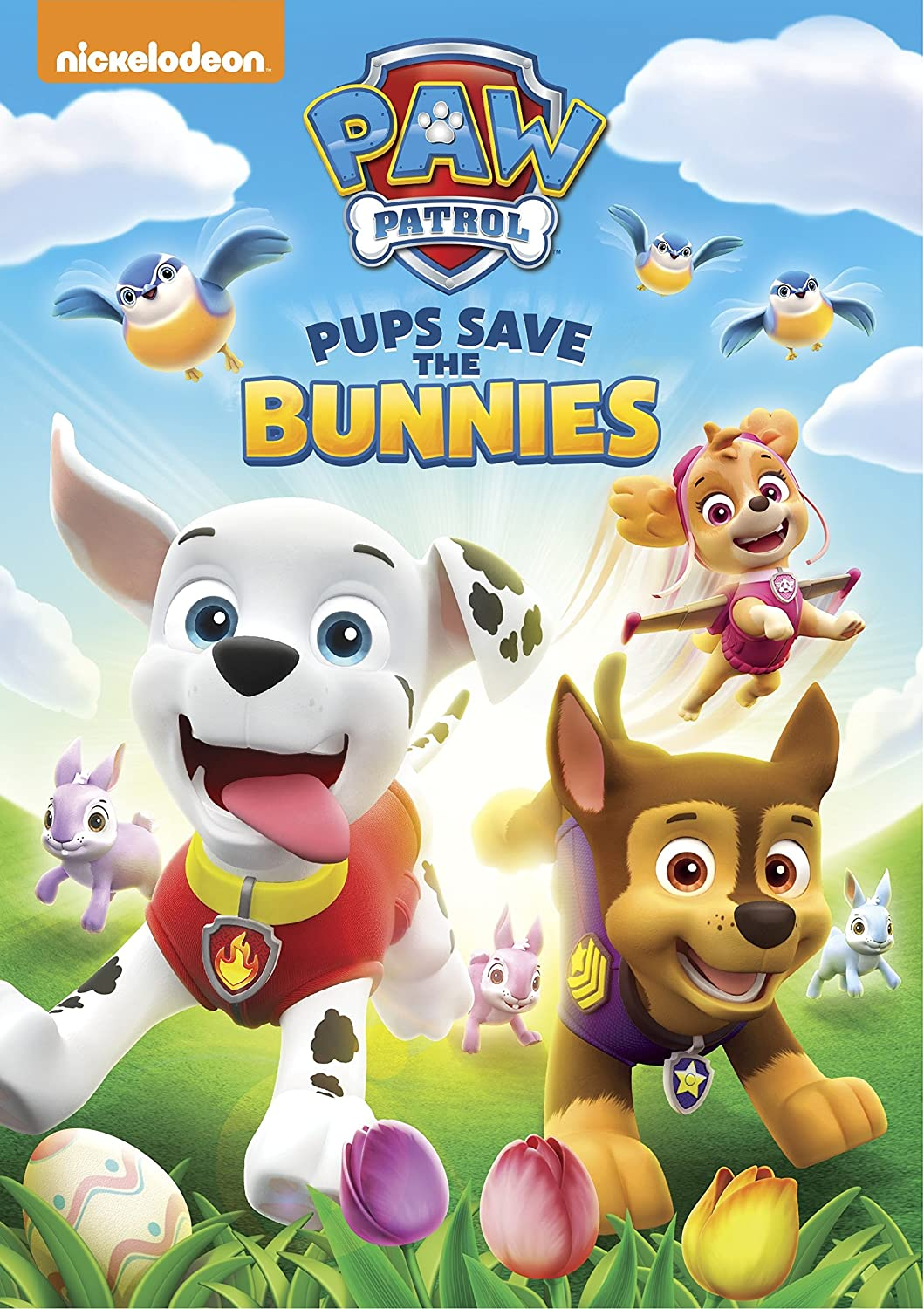 Paw Patrol Pups Save the Bunnies