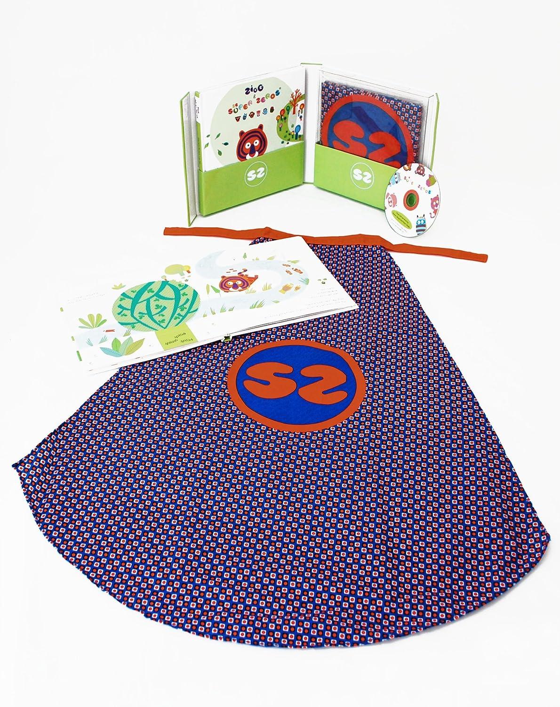 Super Zeros Book, Cape and Music CD Gift Set B0042RU1V0 | München Online Shop