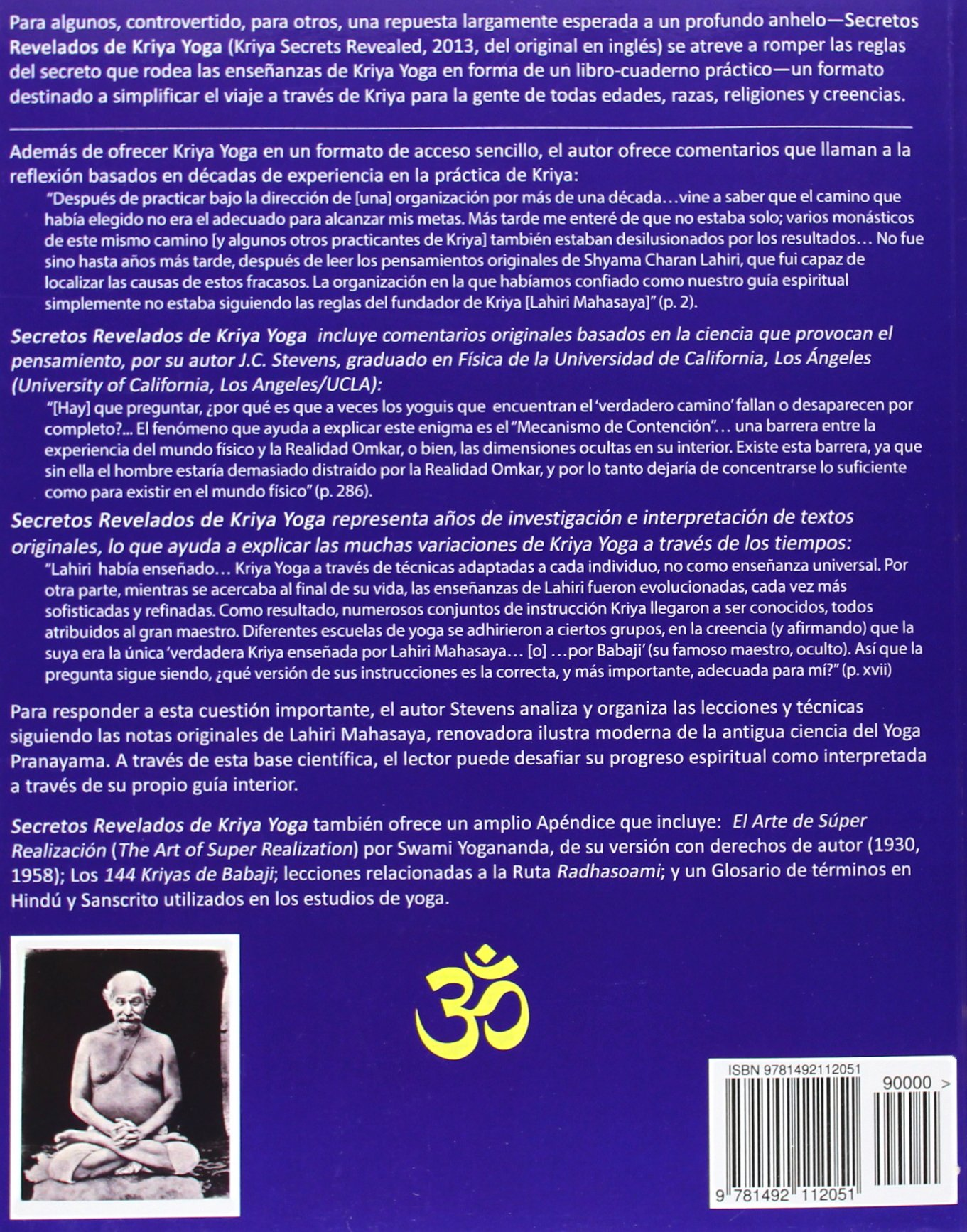 Secretos Revelados de Kriya Yoga: Lecciones Completas,Manual ...