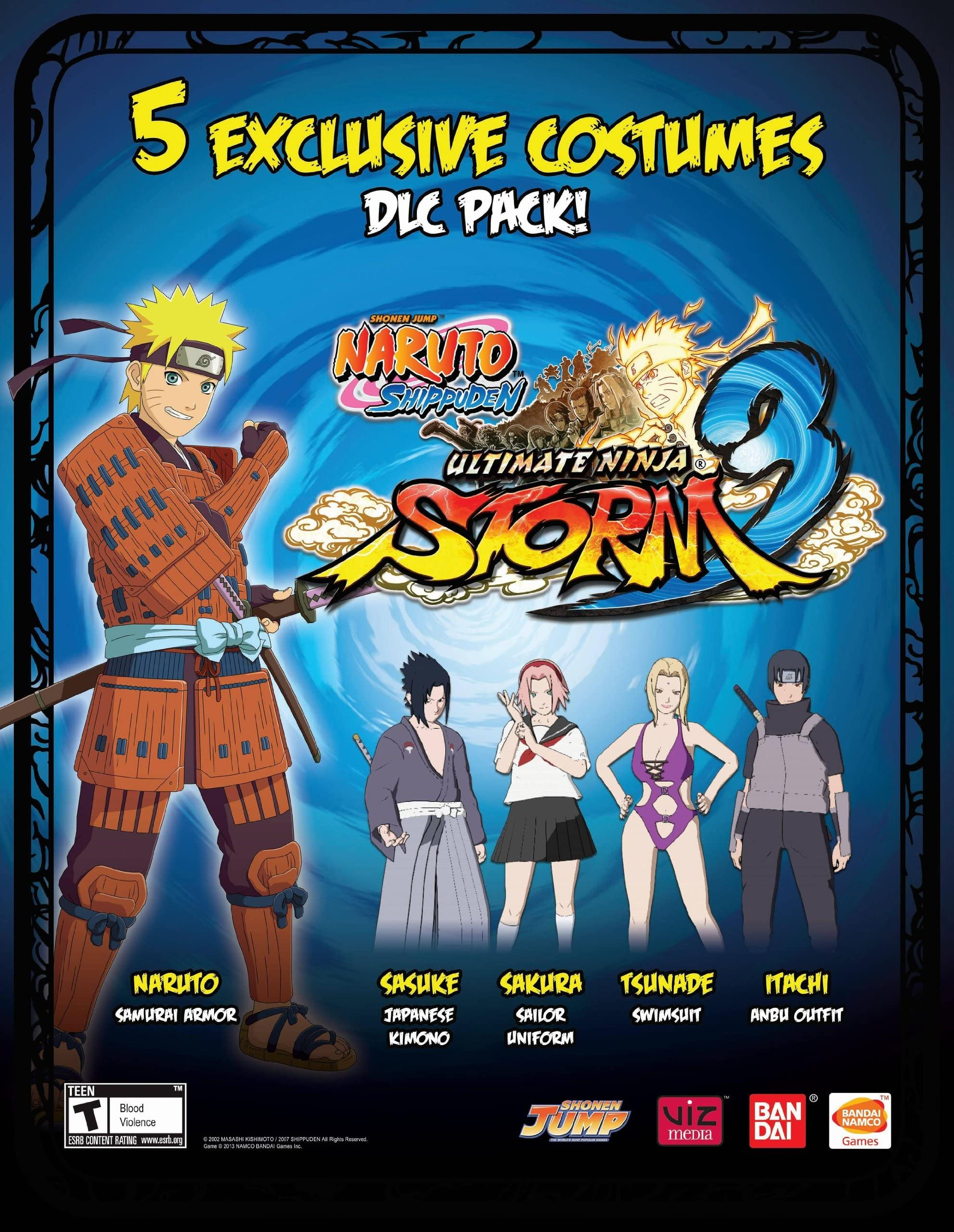 Amazon.com: Naruto Shippuden : Ultimate Ninja Storm 3 - 5 ...