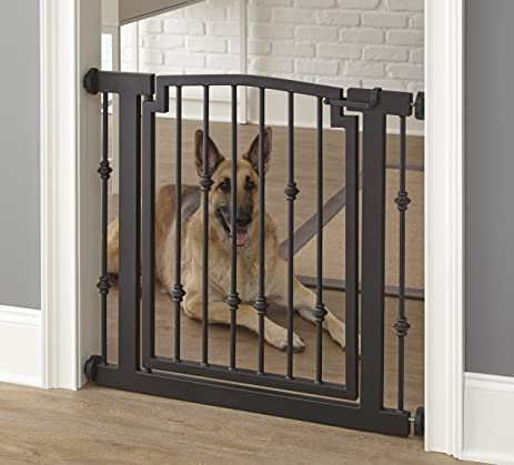 Amazon.com : Emperor Rings Dog Gate - Indoor Pet Barrier ...