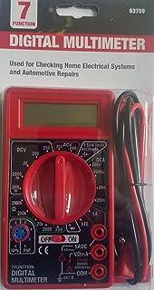 Amazon com: Cen-Tech 7-Function Digital Multimeter: Automotive