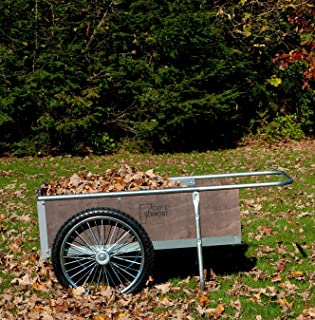 product image for M20S Mid-size Yard/Garden Cart w/semi-pneumatic wheels