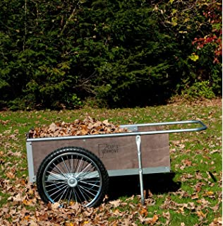 Charmant M20S Mid Size Yard/Garden Cart W/semi Pneumatic Wheels