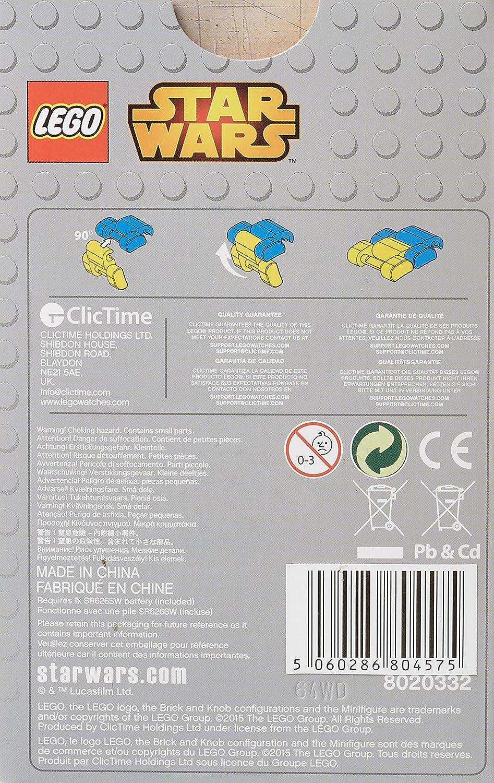 Amazon.com: LEGO 9004315 Star Wars Darth Maul Kids Buildable Watch ...