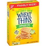 Wheat Thins Crackers, Reduced Fat, 14.5-Ounce Box