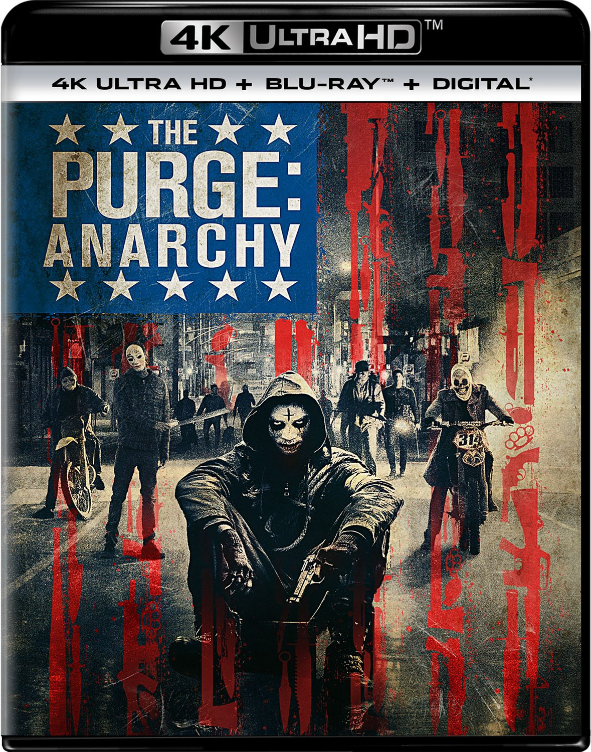 4K Blu-ray : The Purge: Anarchy (With Blu-Ray, 4K Mastering, 2 Pack, Digital Copy, 2PC)