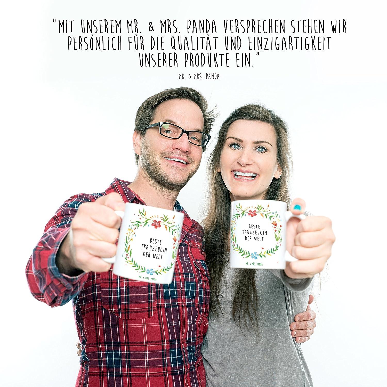 Mr. & Mrs. Panda Tasse Beste Trauzeugin der Welt - Trauzeugin ...