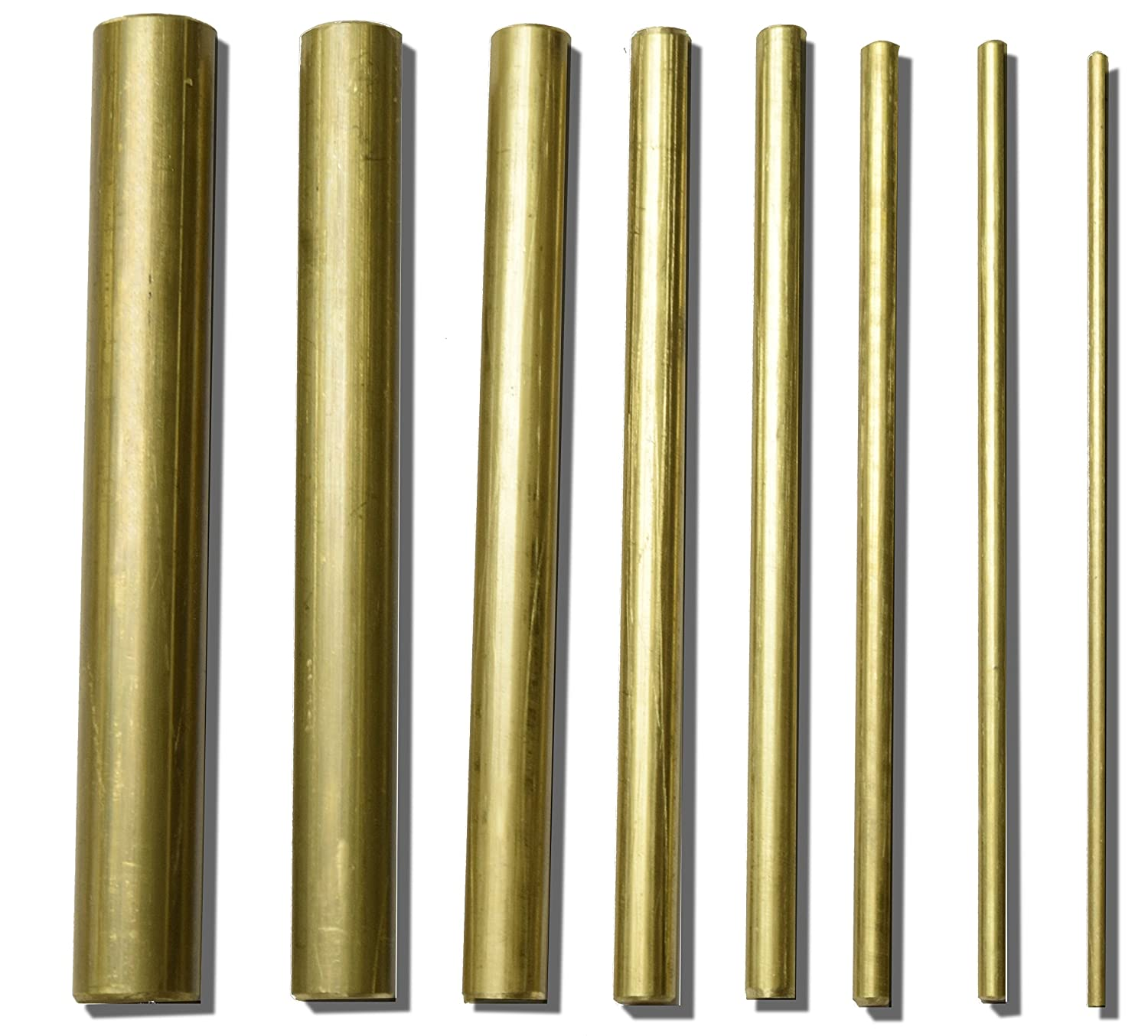 1//2 Diameter RMP Cold Rolled 1018 Round Bar 72 Length Mill Finish