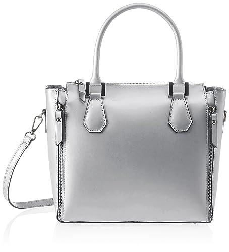 Chicca borse Sac bandoulière femmeArgenté é (argento argento), 33x24x14 cm (W x H x L) EU