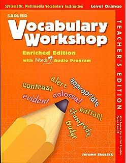 Grammar workshop common core enriched edition level orange sadlier vocabulary workshop level orange enriched edition teachers edition fandeluxe Choice Image