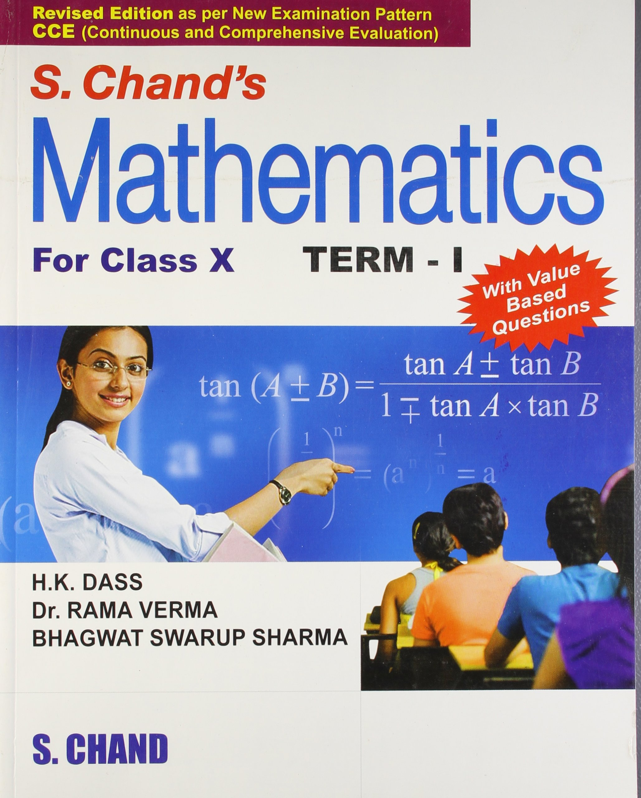 S Chand S Mathematics For Class 10 Term I Perfect Paperback