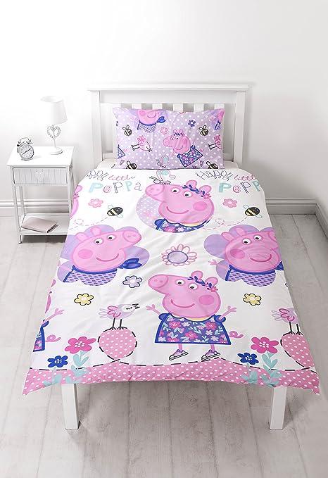 Peppa Pig Happy Juego de Funda nórdica diseño de – patrón de ...