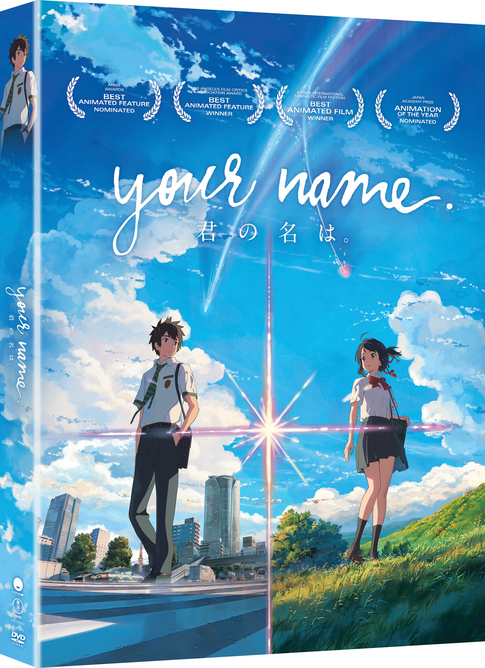 DVD : Your Name. (DVD)