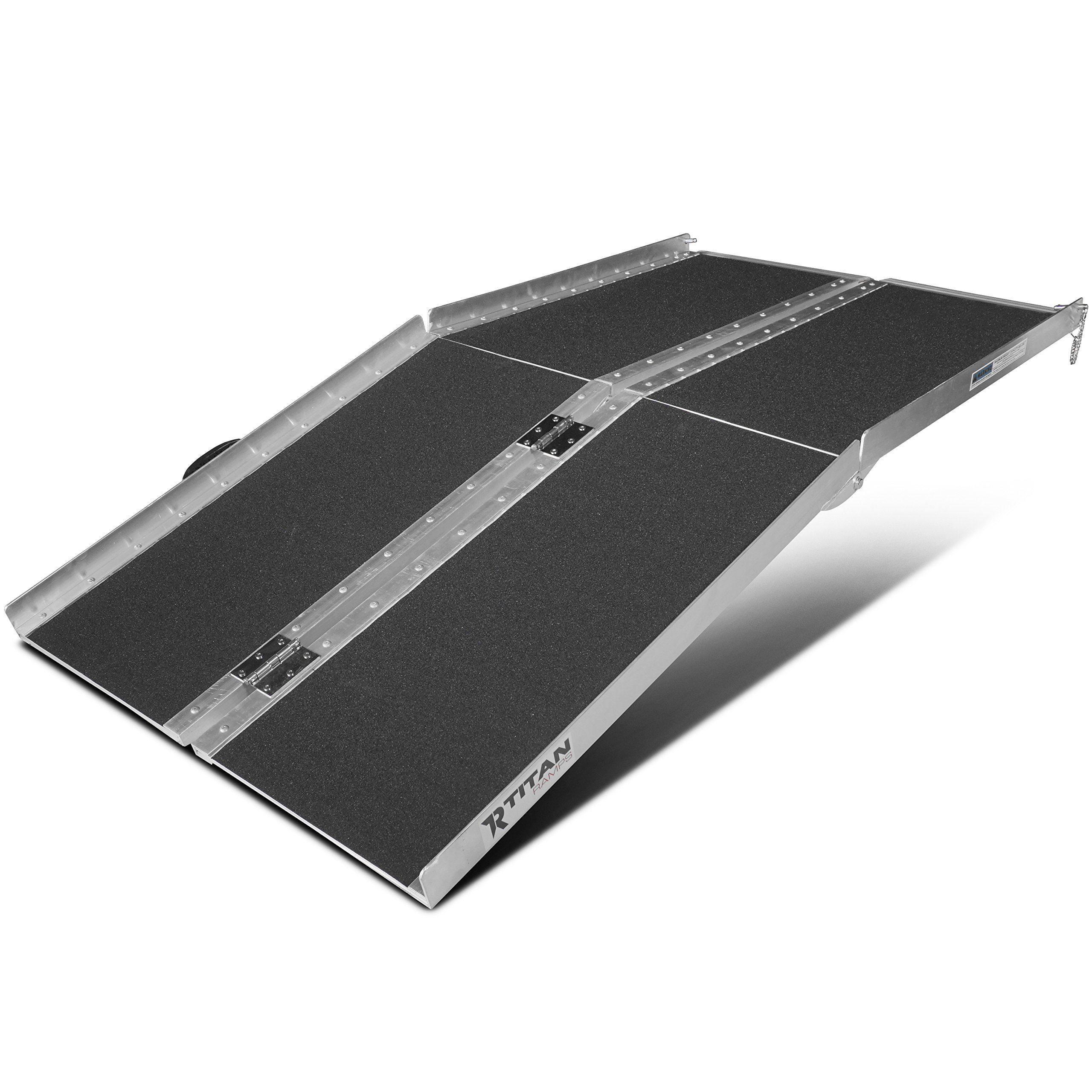 5' ft Aluminum Multifold Wheelchair Scooter Mobility Ramp portable 60'' MF5