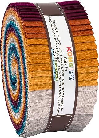 Robert Kaufman RU-785-40 - Rollo de tiras de algodón para acolchar ...