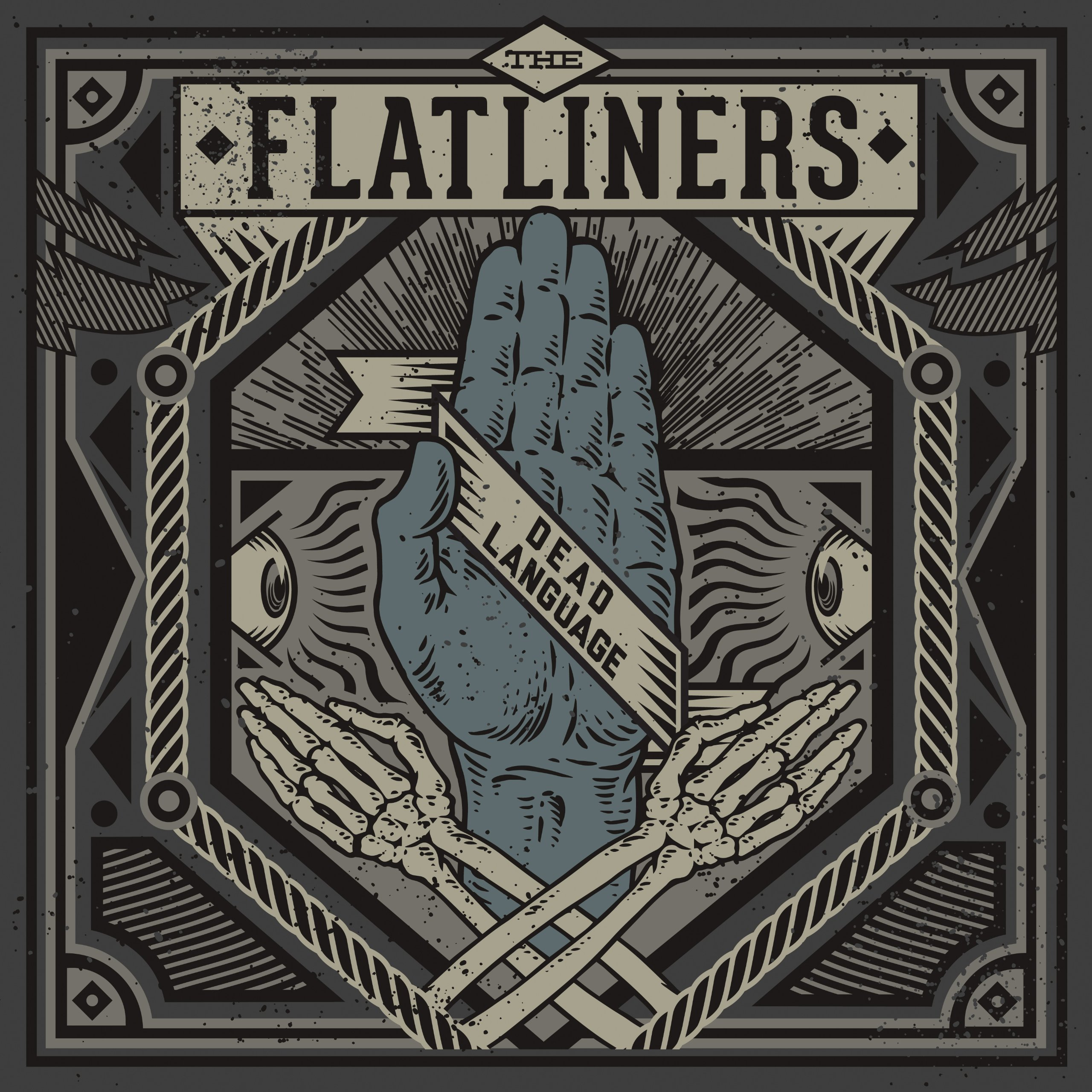 CD : The Flatliners - Dead Language (CD)