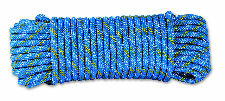 Chapuis DR60 Cuerda de polipropileno trenzada - 450 kg - Diámetro 6 mm - Largo 15 m - Azul