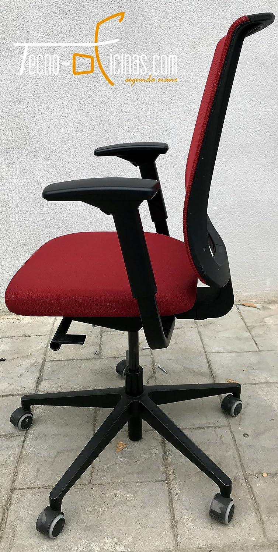 De acero silla Reply Air - 40 negro 02 Air (negro) negro de acero diseño 2009, plástico: Amazon.es: Hogar