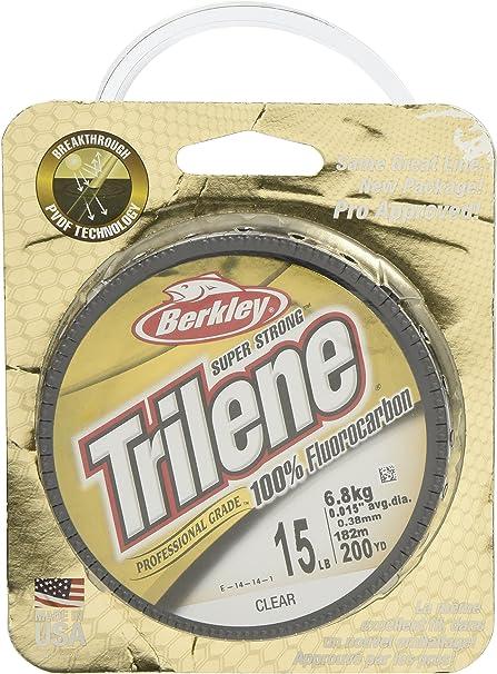 Berkley 100/% Fluorocarbon 200 Yard 10 Lb Clear