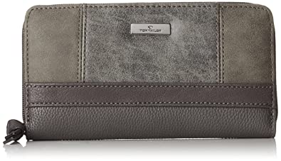 cb4dd7f984e7d TOM TAILOR für Frauen Taschen   Geldbörsen Damenbörse Juna grey ...