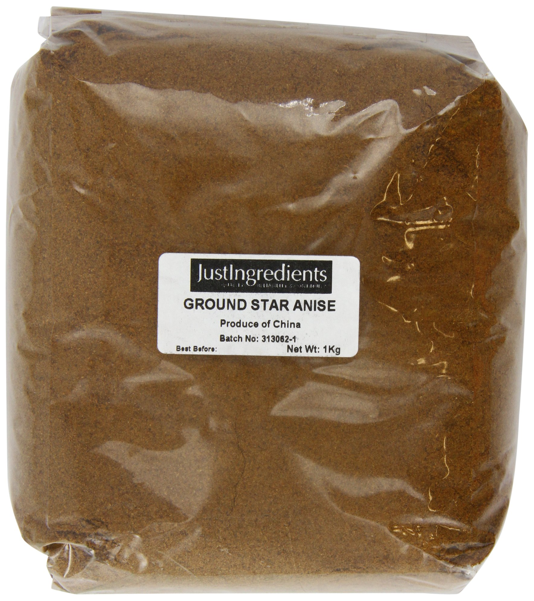 JustIngredients Star Aniseed Ground Loose 1 Kg