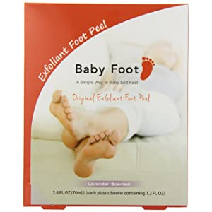 Baby Foot Deep Exfoliation For Feet peel, lavender scented,2.4 fl.oz