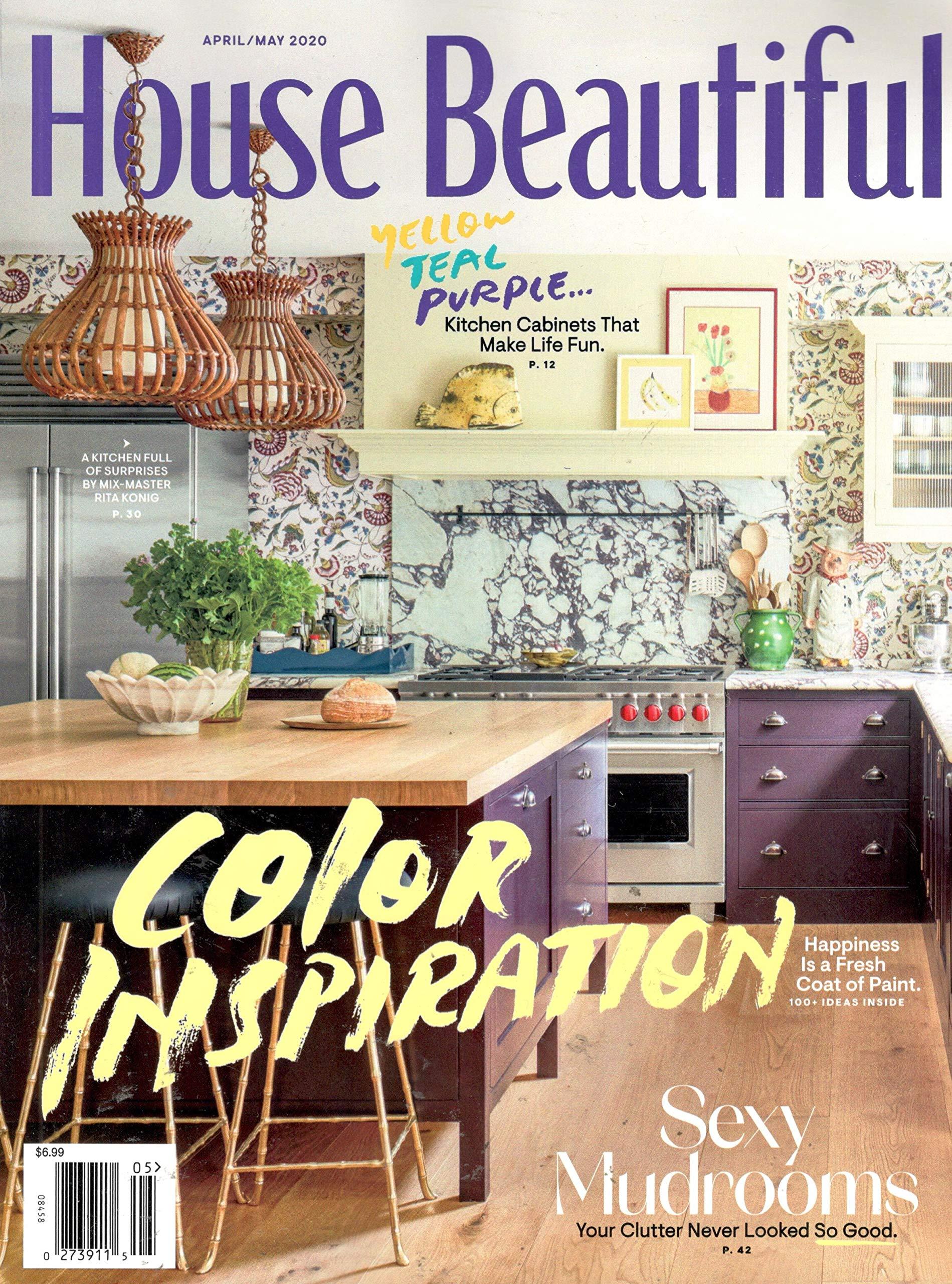 House Beautiful Magazine (April, 13) Color Inspiration: House