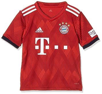 adidas 18/19 FC Bayern Home Camiseta, Hombre: Amazon.es: Deportes y aire libre