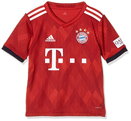 3fe945230fe adidas Children s 18 19 Fc Bayern Home Shirt  Amazon.co.uk  Sports    Outdoors