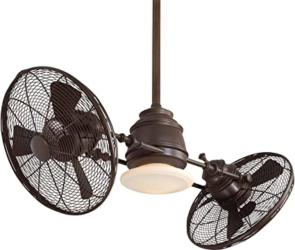 fan gyro turbo ceiling twin looking minka mount fans wall traditional antique style ideas table