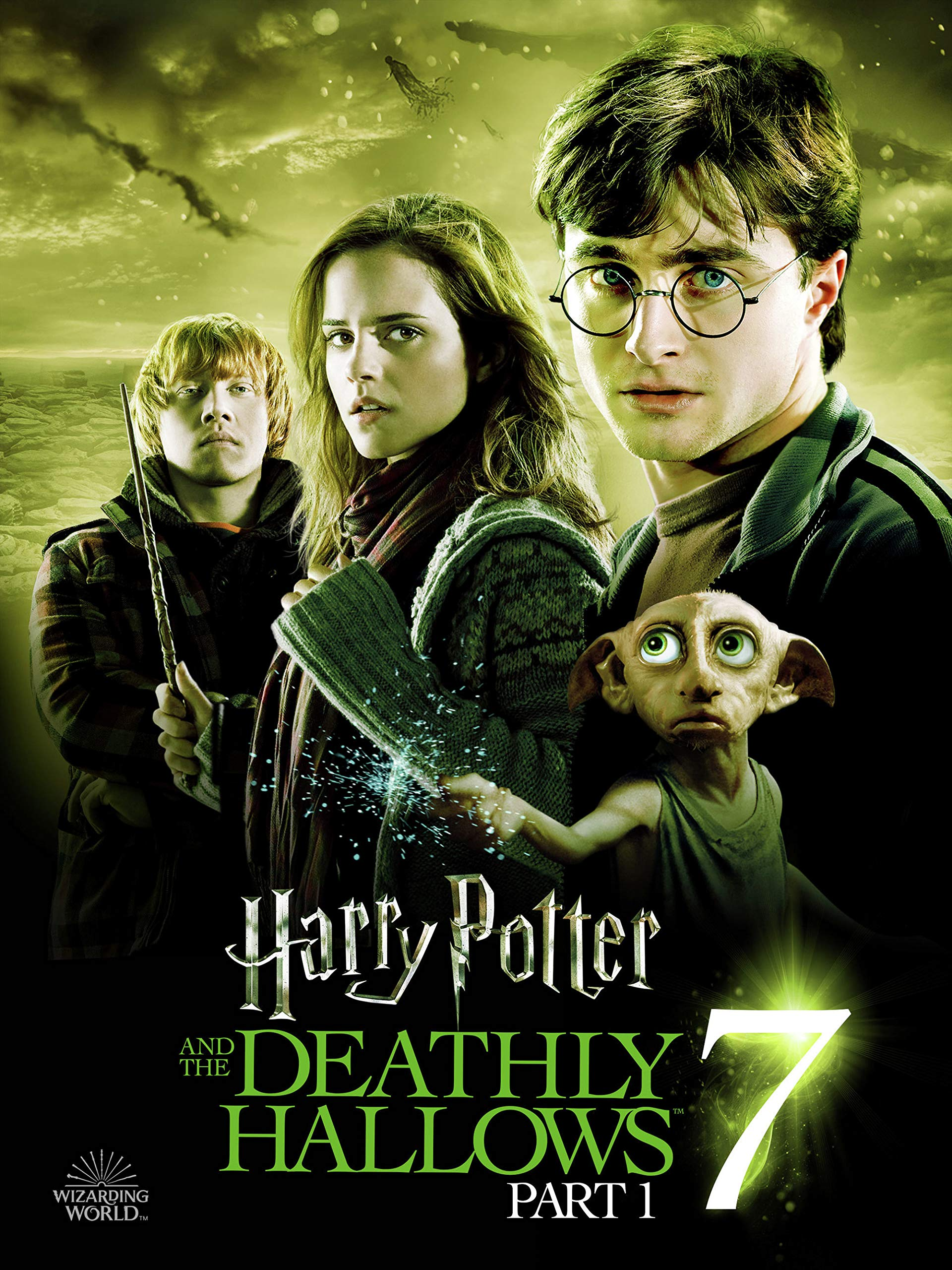 Amazon Com Harry Potter And The Deathly Hallows Part 1 Daniel Radcliffe Rupert Grint Emma Watson Helena Bonham Carter