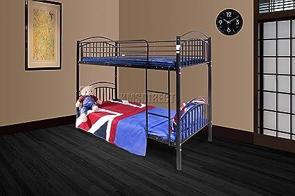 KMS FoxHunter - 91,44 cm solo marco de metal litera cama infantil ...