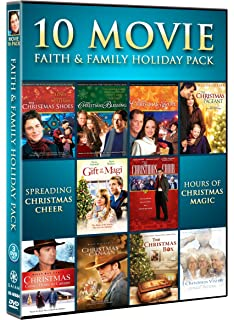 10 movie faith family holiday pack - The Christmas Box Movie