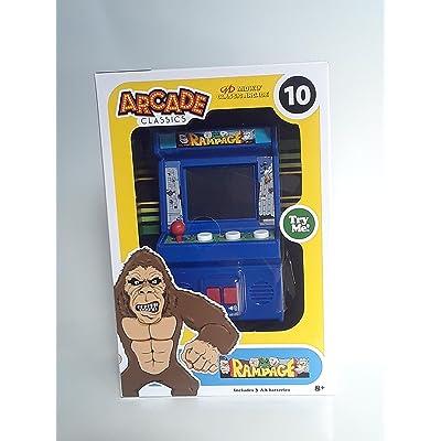 Arcade Classics - Rampage Mini Arcade Game: Toys & Games