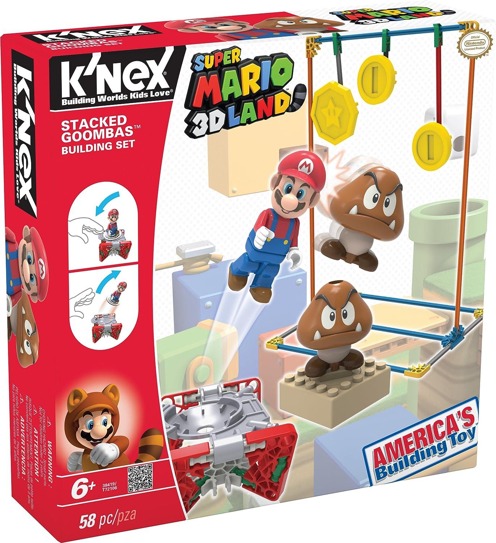 comprar ahora Knex - Juego Juego Juego de construcción para niños Mario Bros de 58 piezas (38419)  respuestas rápidas