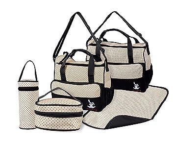 TechnoTec Multi-Function Baby Diaper Nappy Bag Mummy Changing Set Handbag  (Pack of 65c229de74754