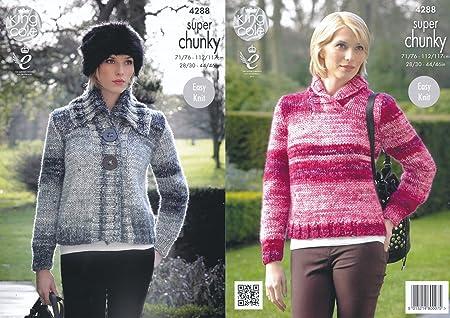 super chunky jacket easy knitting pattern