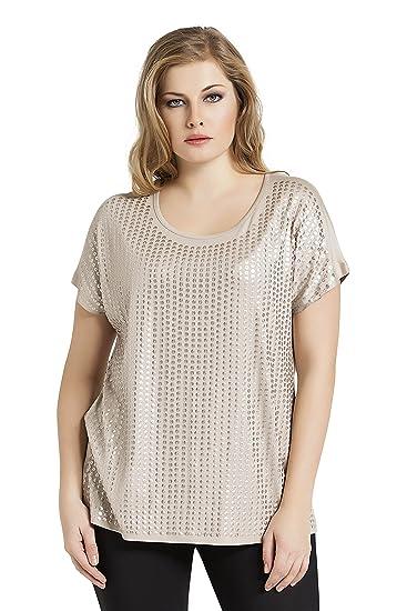 e65abcf2d93 Tops   Plus Women s Plus Size Sequin Chic Top at Amazon Women s Clothing  store